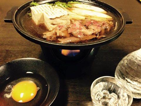 すきやき鍋料理