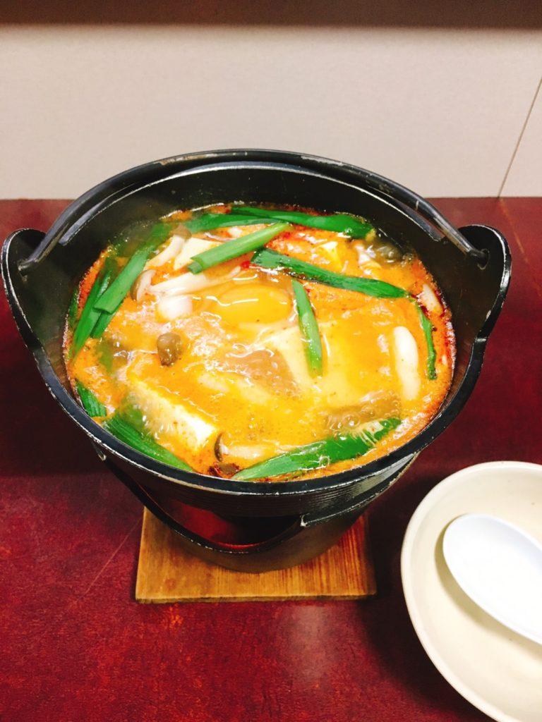 成田家スンドゥブ鍋